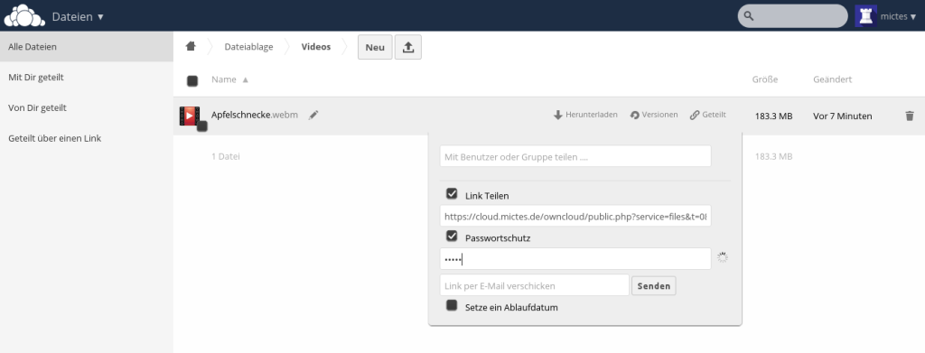 owncloud-share